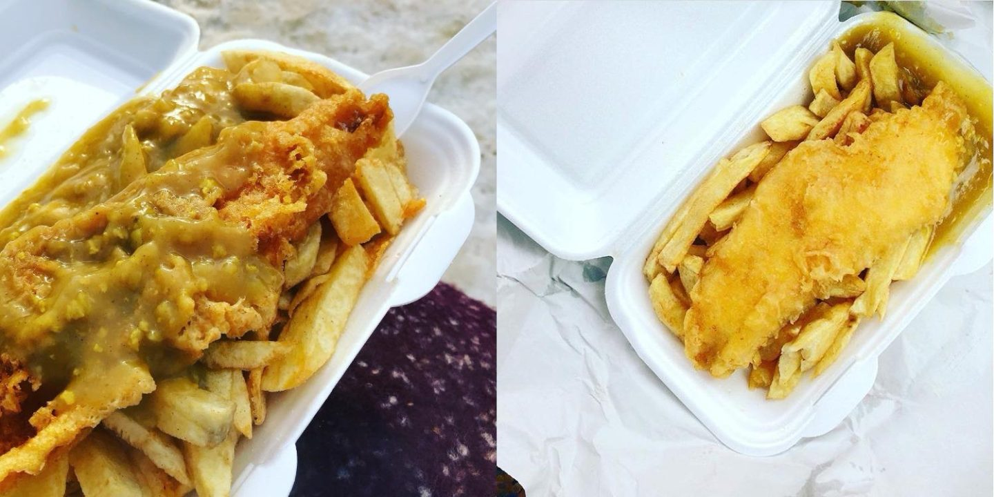 AN ODE TO FISH, CHIPS & CURRY SAUCE