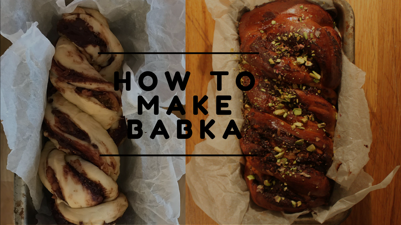 THE EASIEST BABKA RECIPE EVER